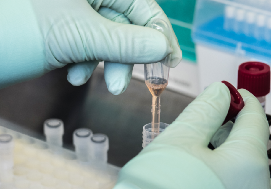 This Centers for Disease Control and Prevention (CDC) scientist was preparing to test a patient's sample for SARS-CoV-2, using the CDC 2019 Novel Coronavirus (2019-nCoV) Real-Time Reverse Transcriptase (RT)–PCR Diagnostic Panel.